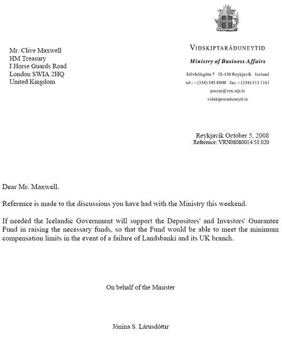 claims letter