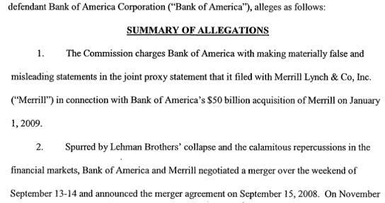 BAC agrees to pay $33m to settle SEC Merrill case | FT Alphaville