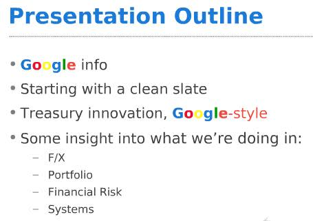 google strategic management