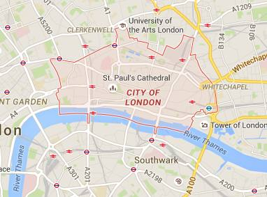 Google London Map.If Google Mapped The Financial System Ft Alphaville