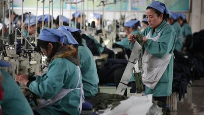 中国劳工薪资涨幅放缓