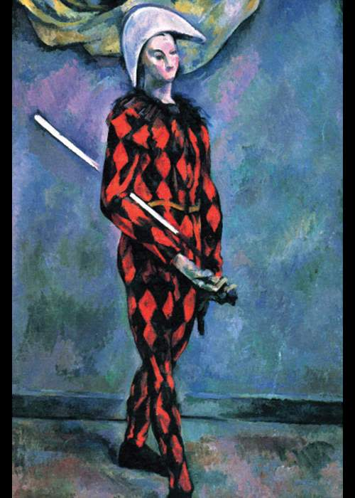 Harlequin, 1875 by Paul Cézanne ©Photo by Buyenlarge/Getty Images