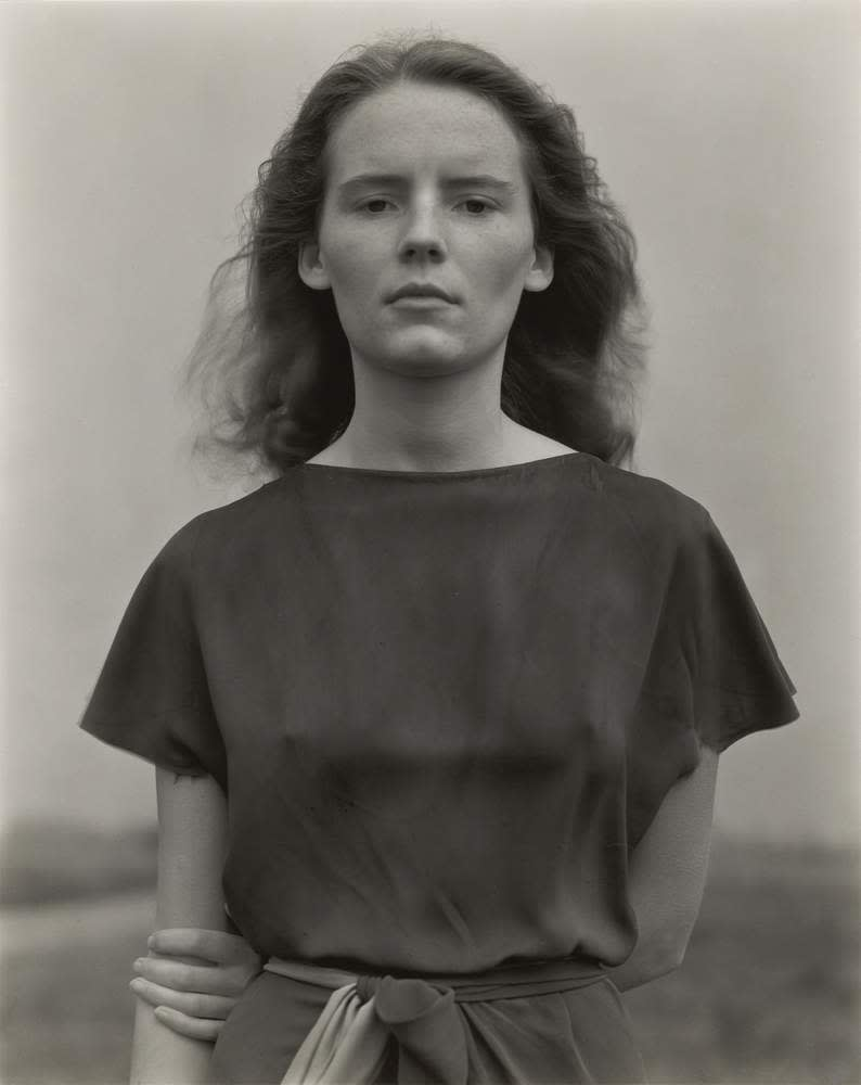 Charis, 1936, by Edward Weston, 1886–1958. Gelatin silver print Sheet: 24.4 x 19.4 cm. The Lane Collection, courtesy, Museum of Fine Arts, Boston ©Center for Creative Photography, The University of Arizona Foundation\/DACS 2017