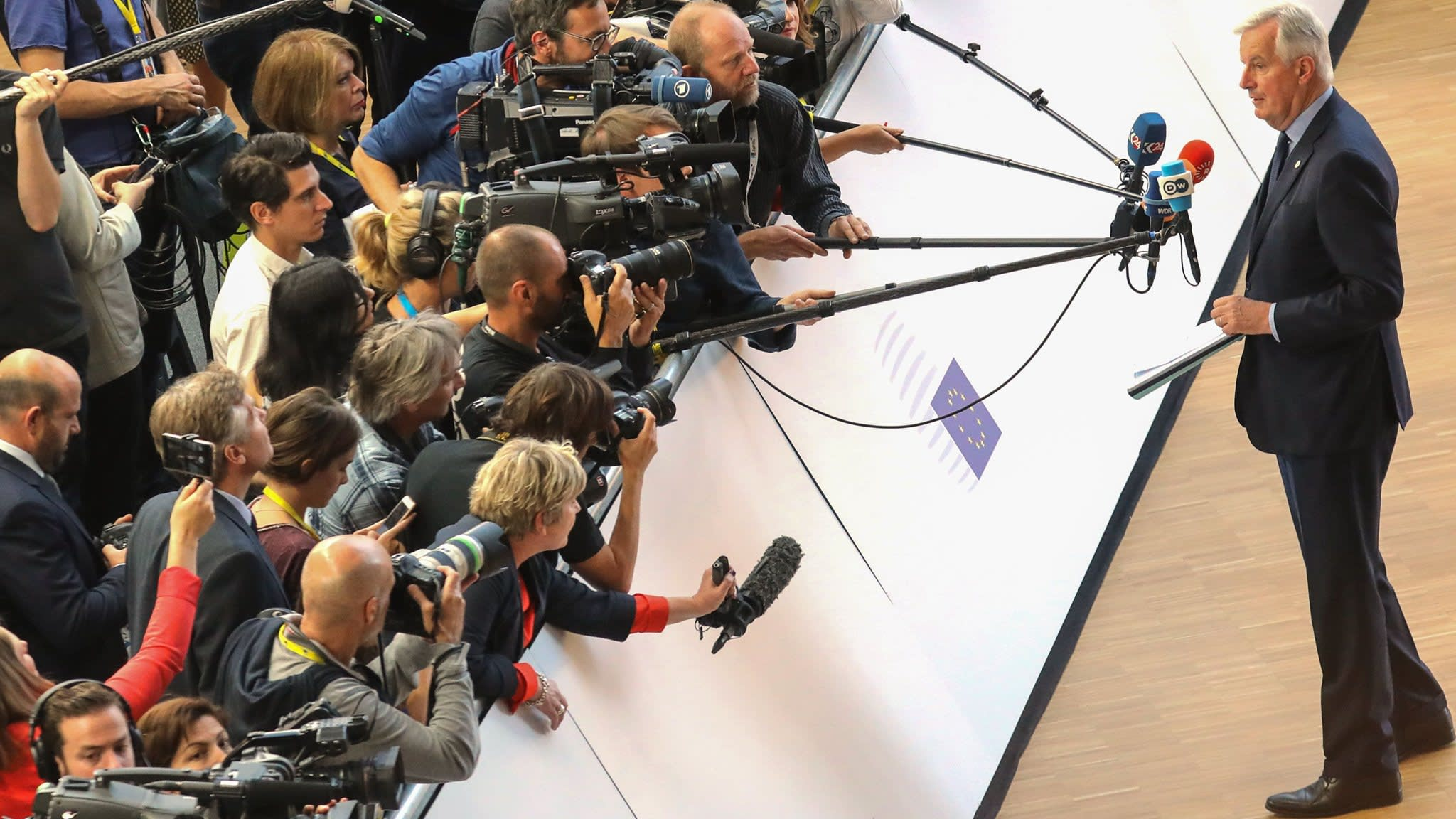 Belgium to charge journalists €100 a year for EU summit coverage
