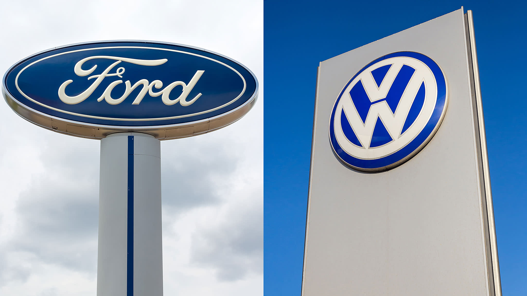 Ford and VW announce collaboration via new 'global alliance'