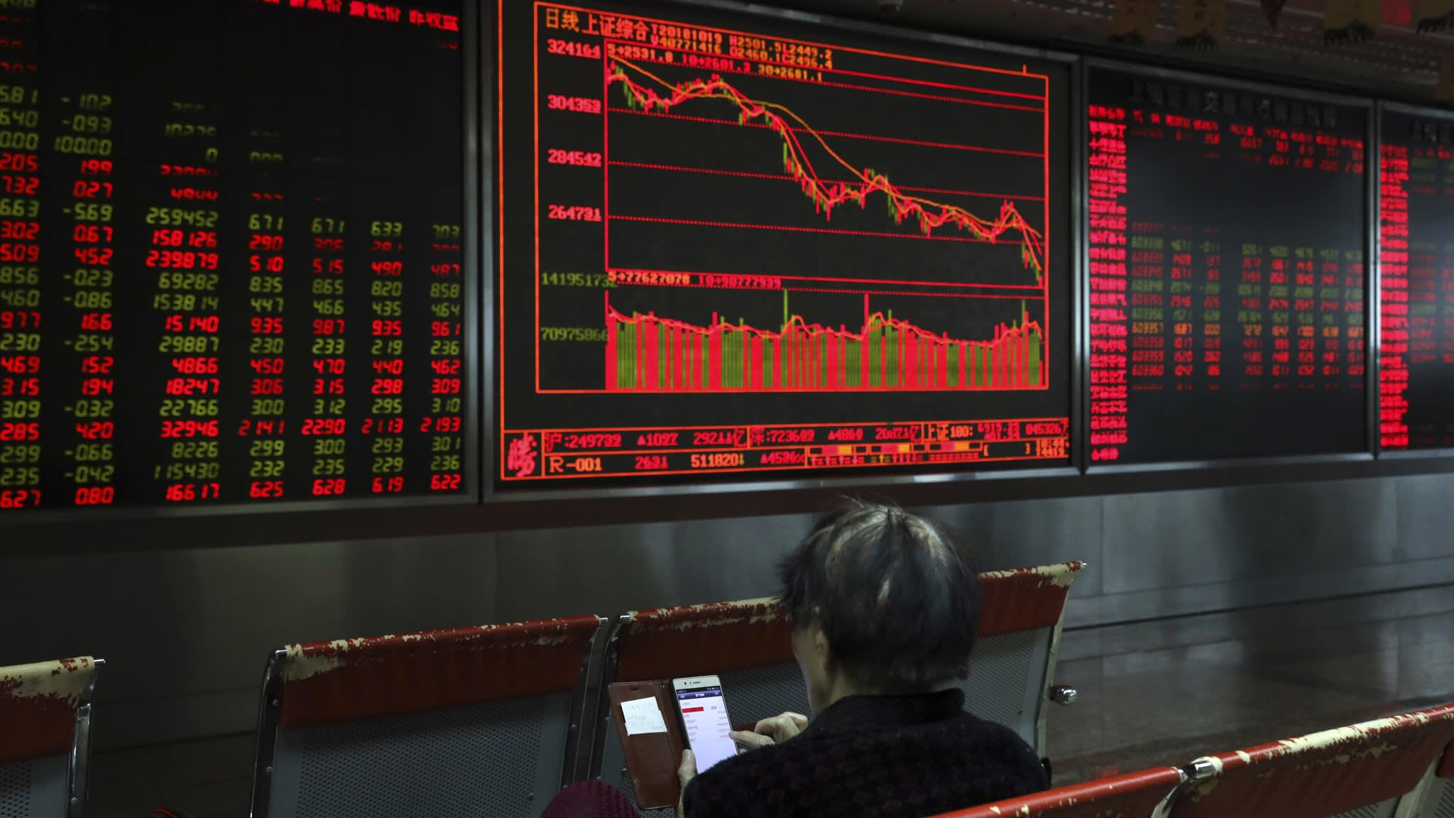 Global stock sell-off follows heavy falls in China
