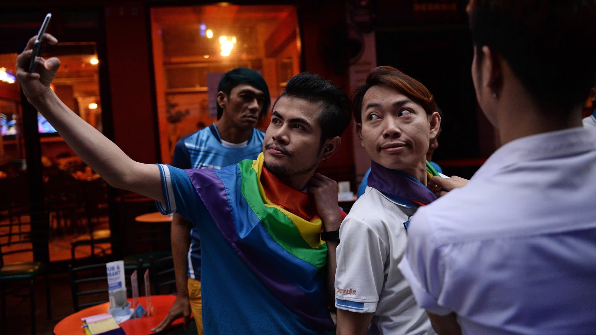 Thais celebrate the prospect of same-sex unions as a leap forward