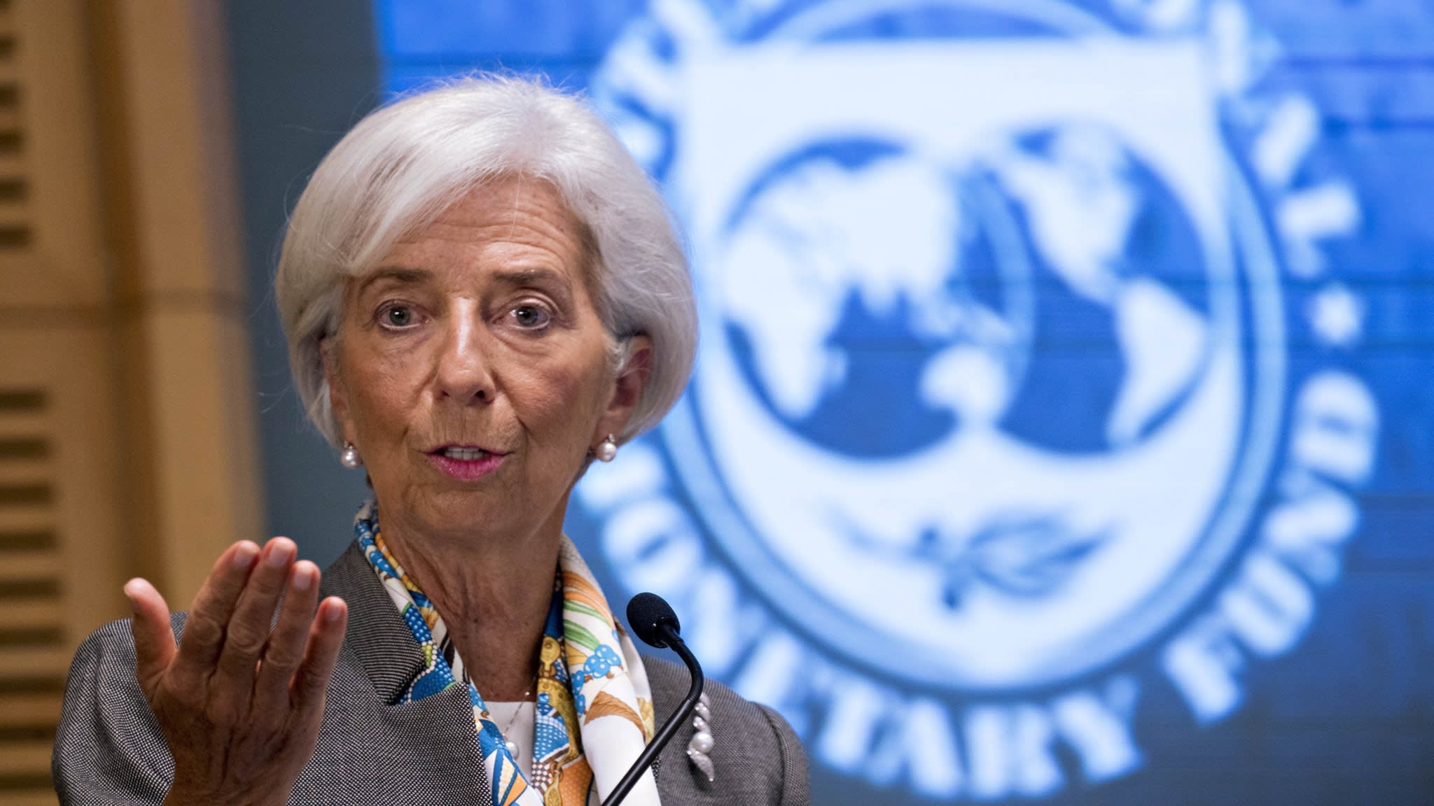 Lagarde defends Fed interest rate rises after Trump attack