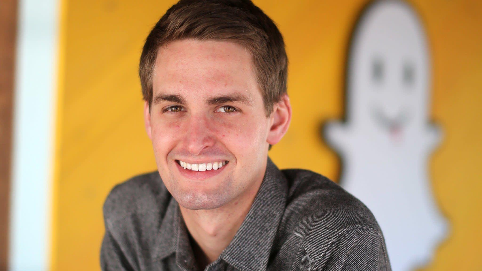 Snapchat creator Evan Spiegel's pay hits $638m