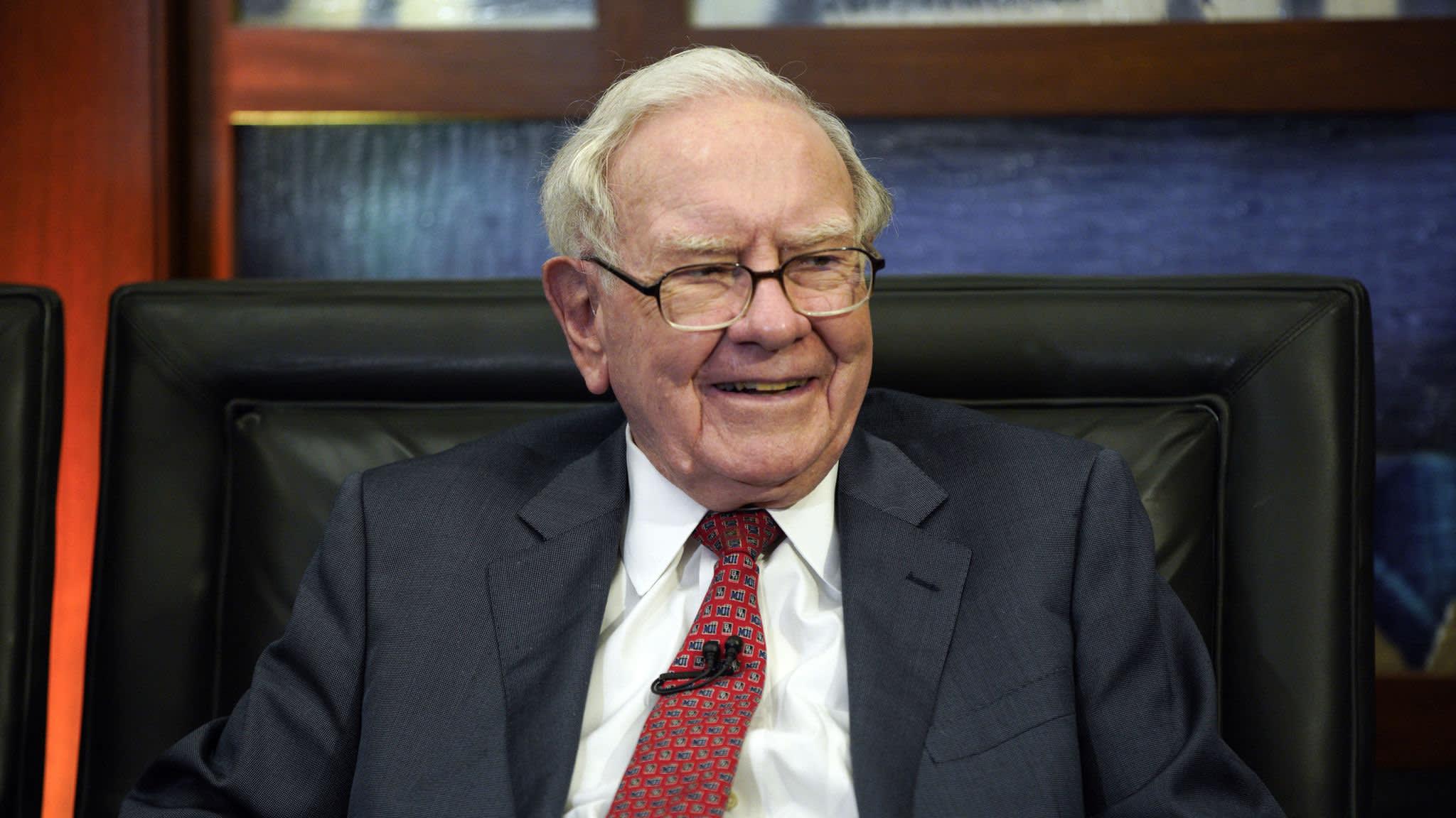 Warren Buffett's Berkshire Hathaway posts sharp rise in profits