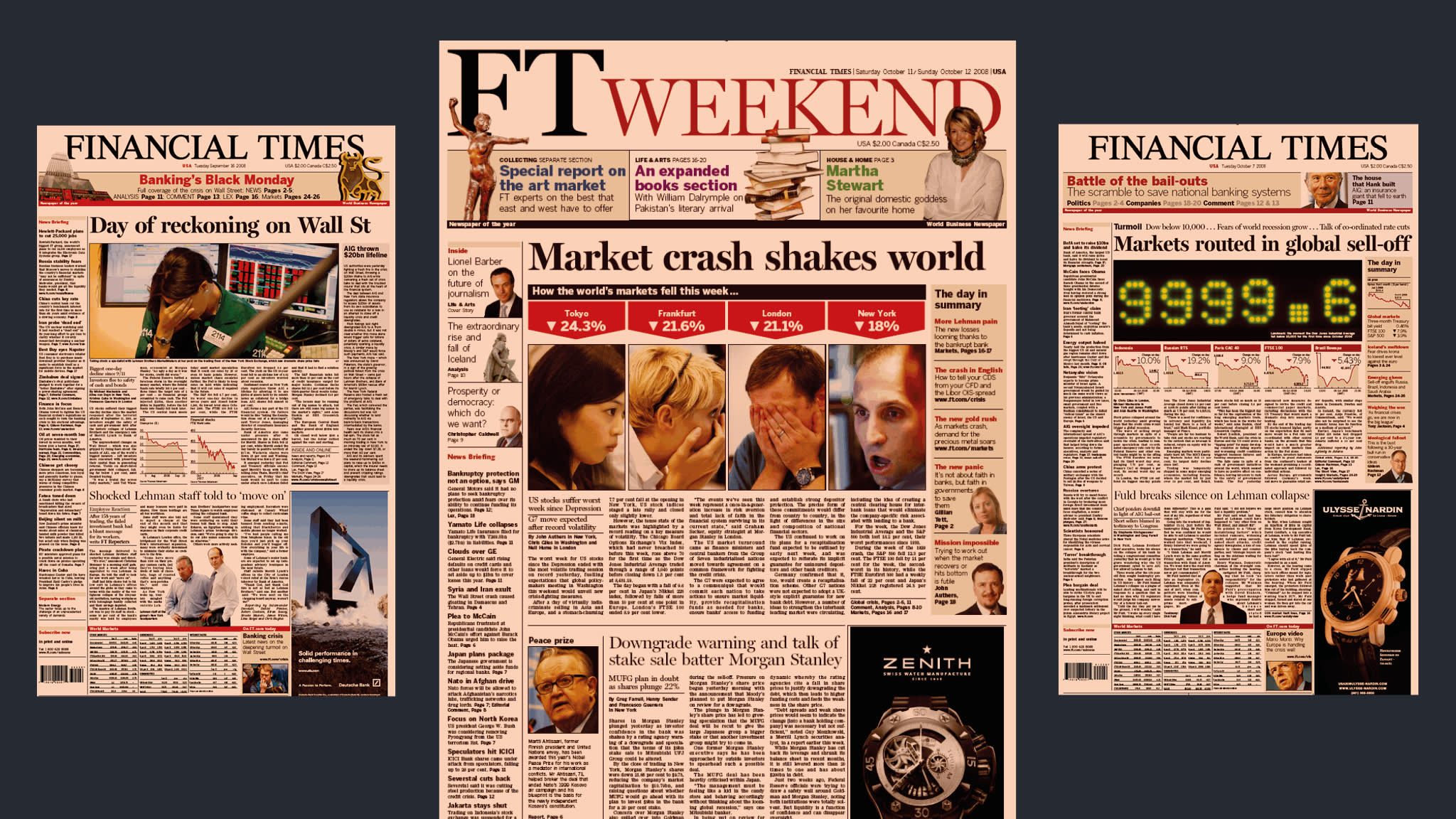 Financial crisis 2008: A reporter's memories from the front lines