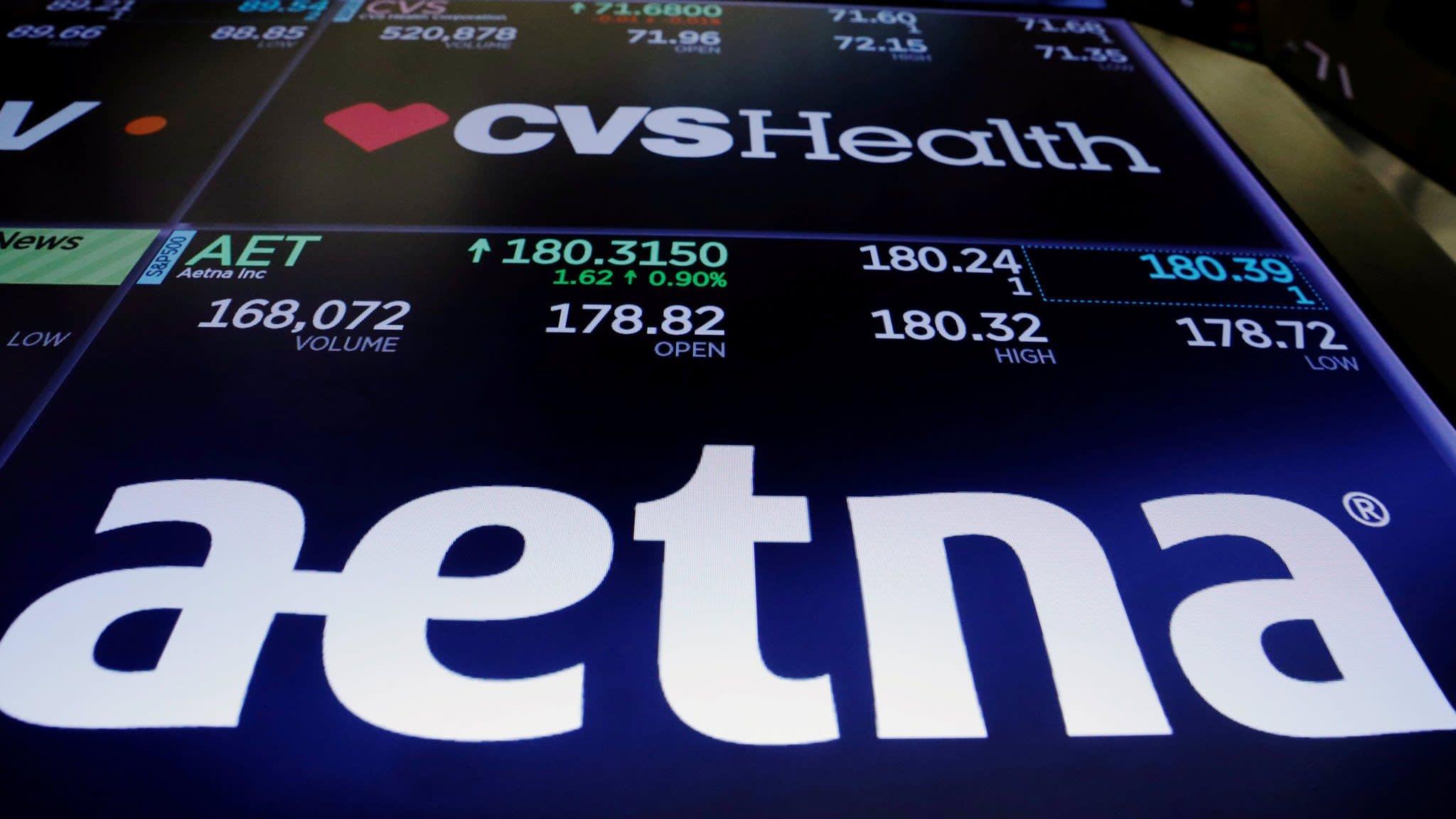 DoJ clears CVS's $69bn takeover of Aetna