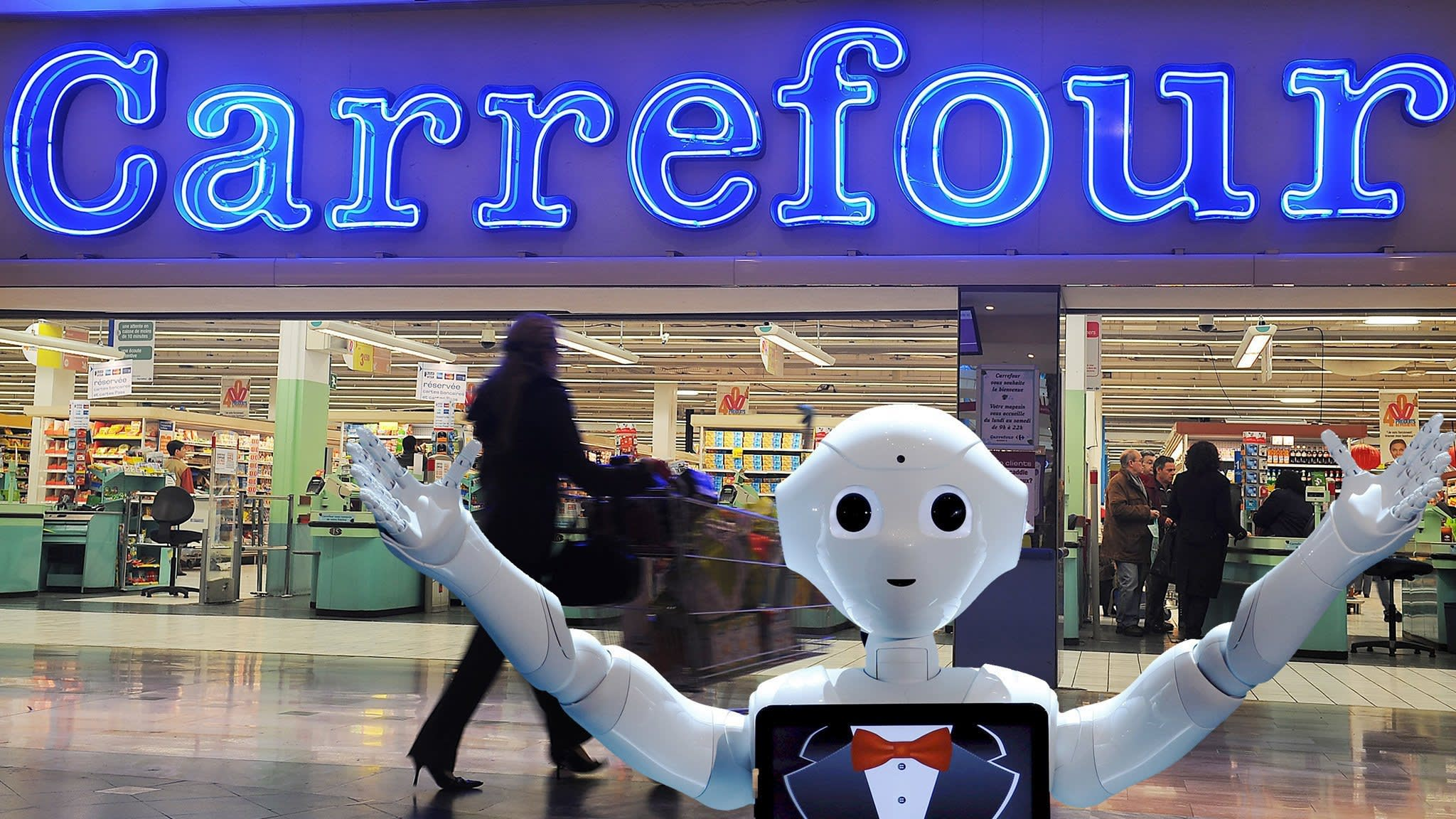 Carrefour partners with Google for digital push | Financial Times