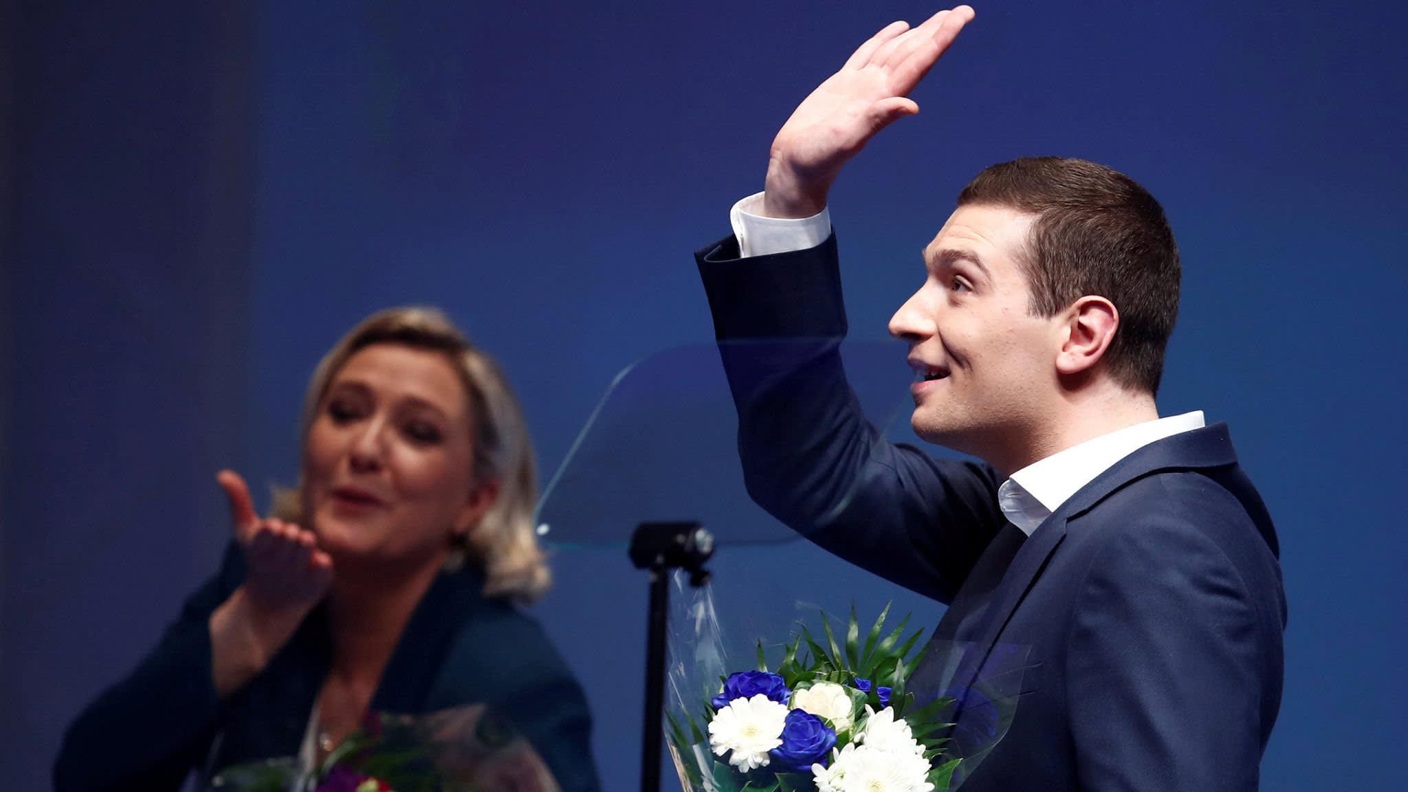 Le Pen protégé vows to reclaim sovereignty from EU
