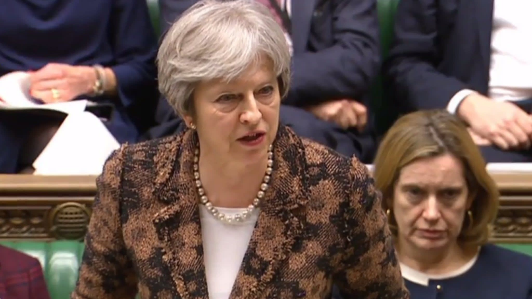 Russia accused by May over 'reckless' nerve agent attack in Britain