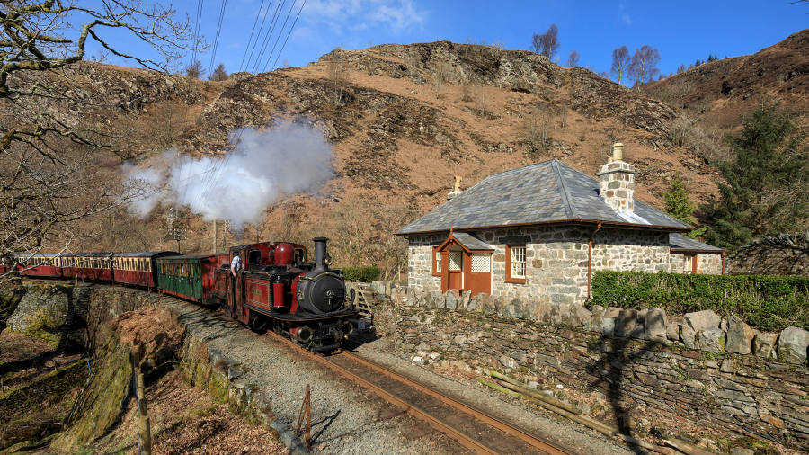 A Fairy Tale Welsh Cottage Accessible Only By Steam Train