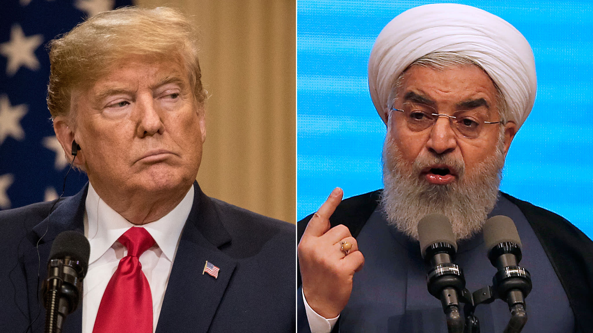 Donald Trump threatens Iran with severe 'consequences'