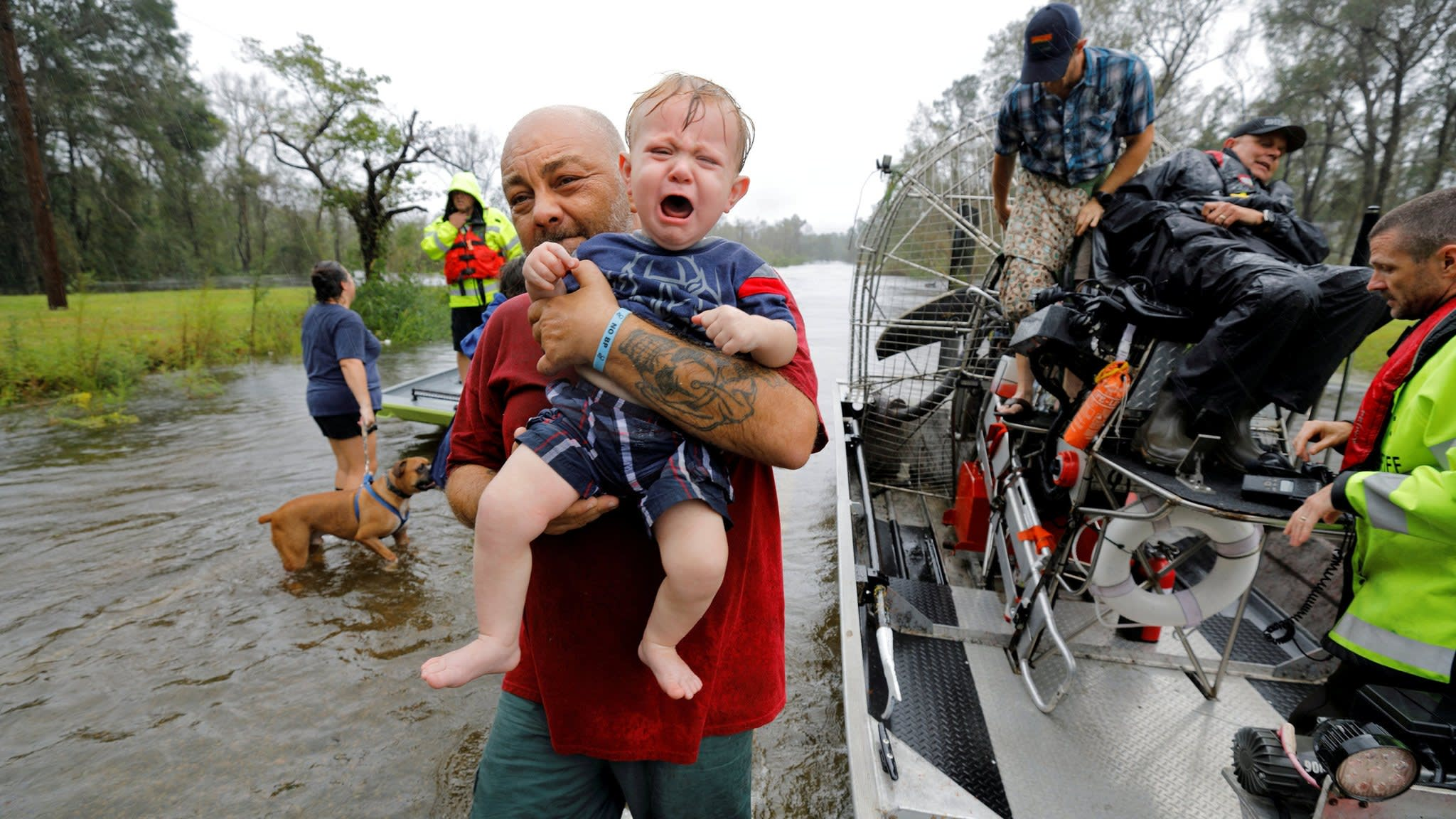 Storm Florence aftermath puts Trump on defensive