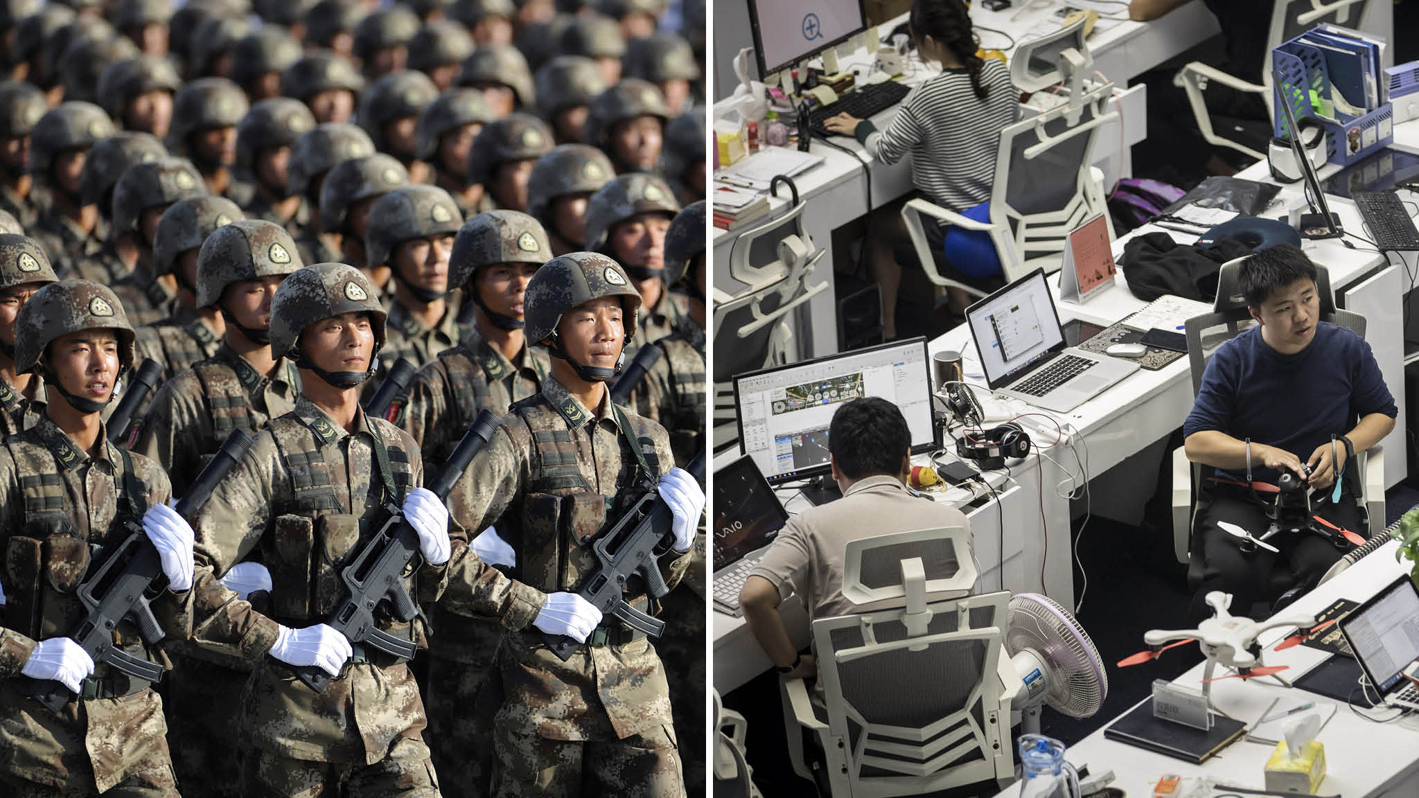 Washington unnerved by China's 'military-civil fusion' on AI