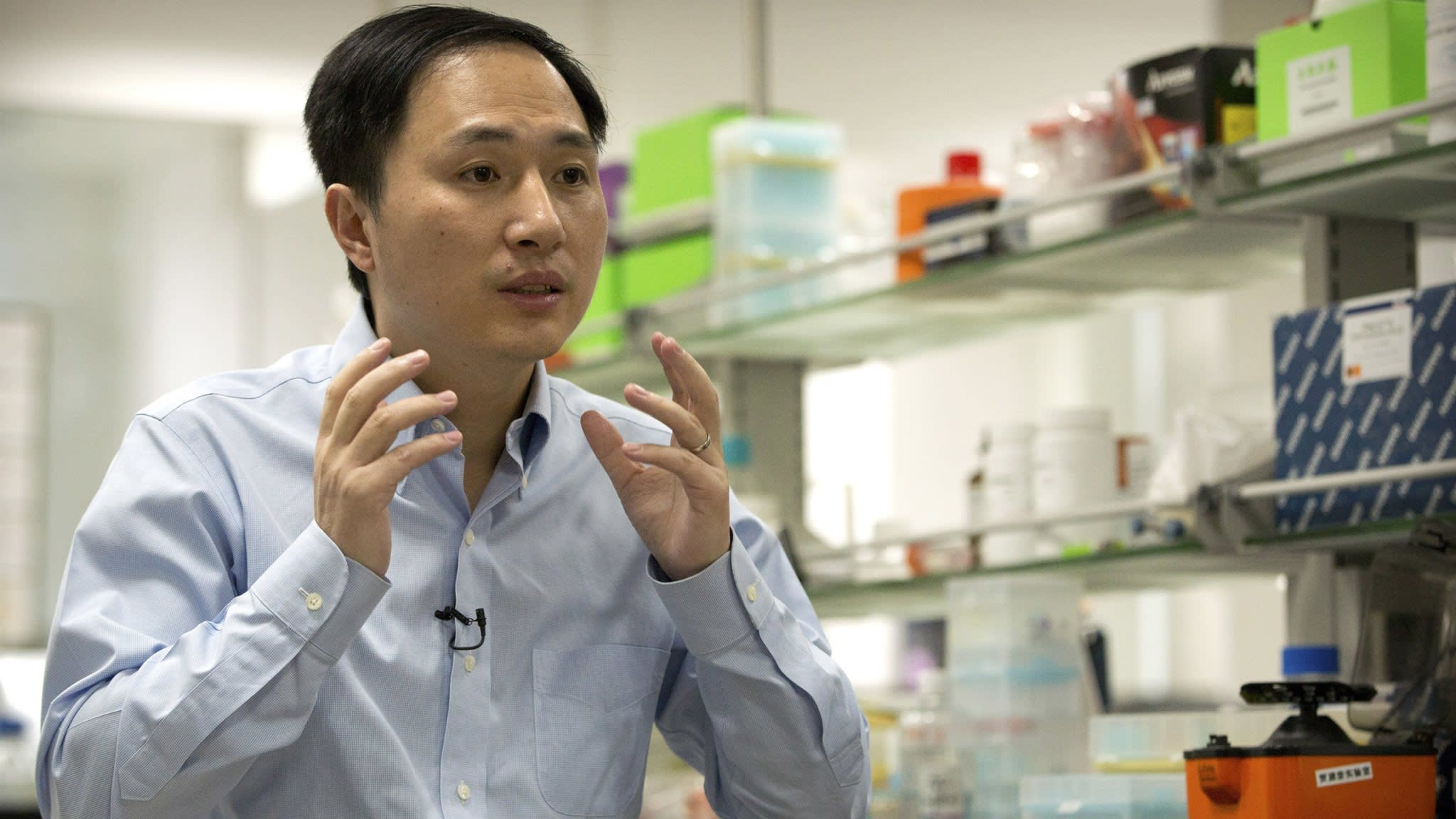 Chinese scientist claims to have created genetically edited babies
