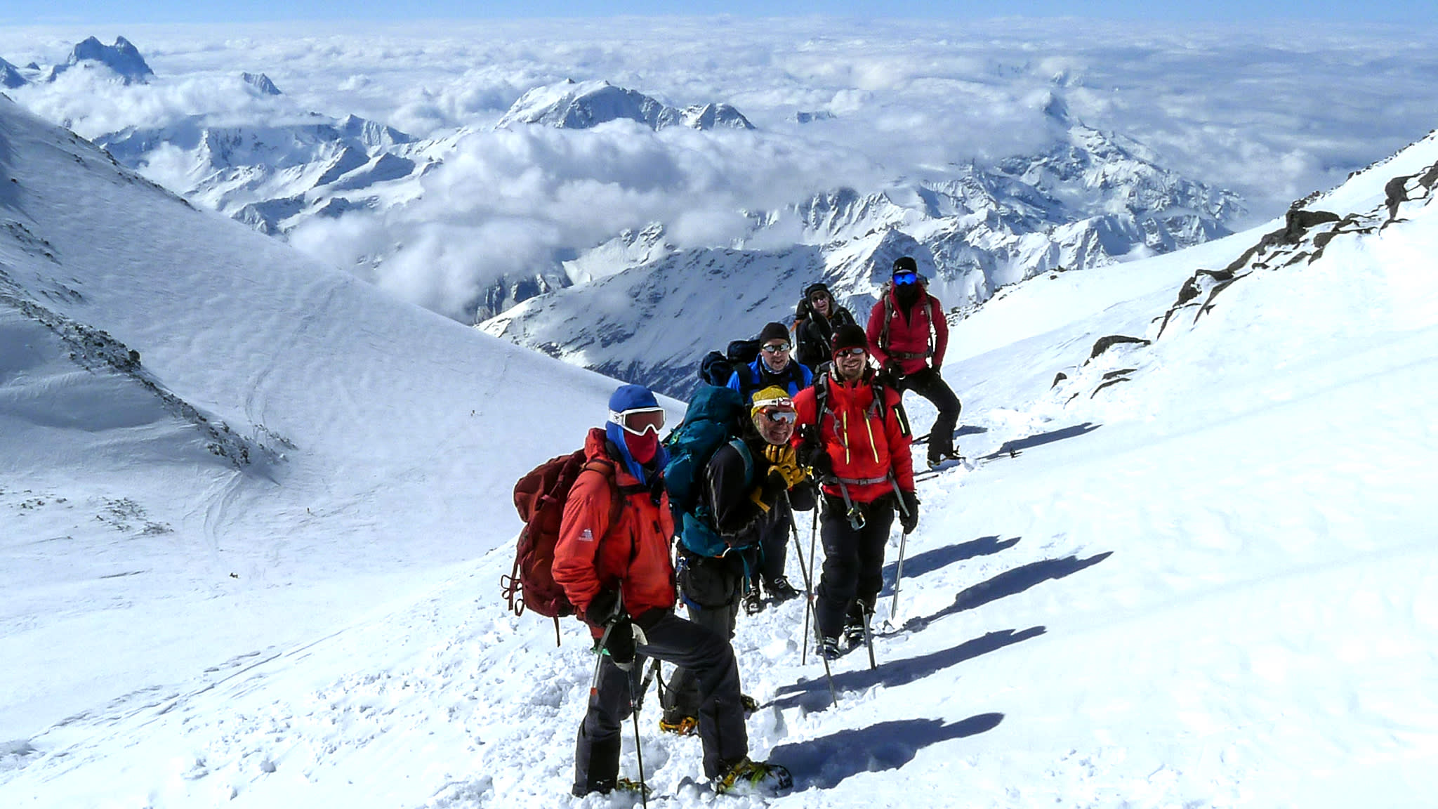 Skiing Mount Elbrus — Europe's highest peak