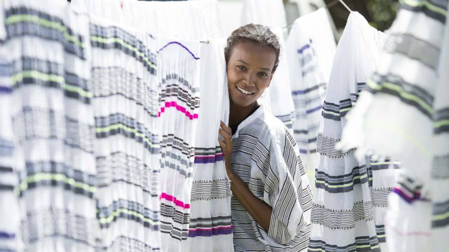 Liya Kebede S Brand Lemlem Offers Ethiopian Craftsmanship That Sells Financial Times
