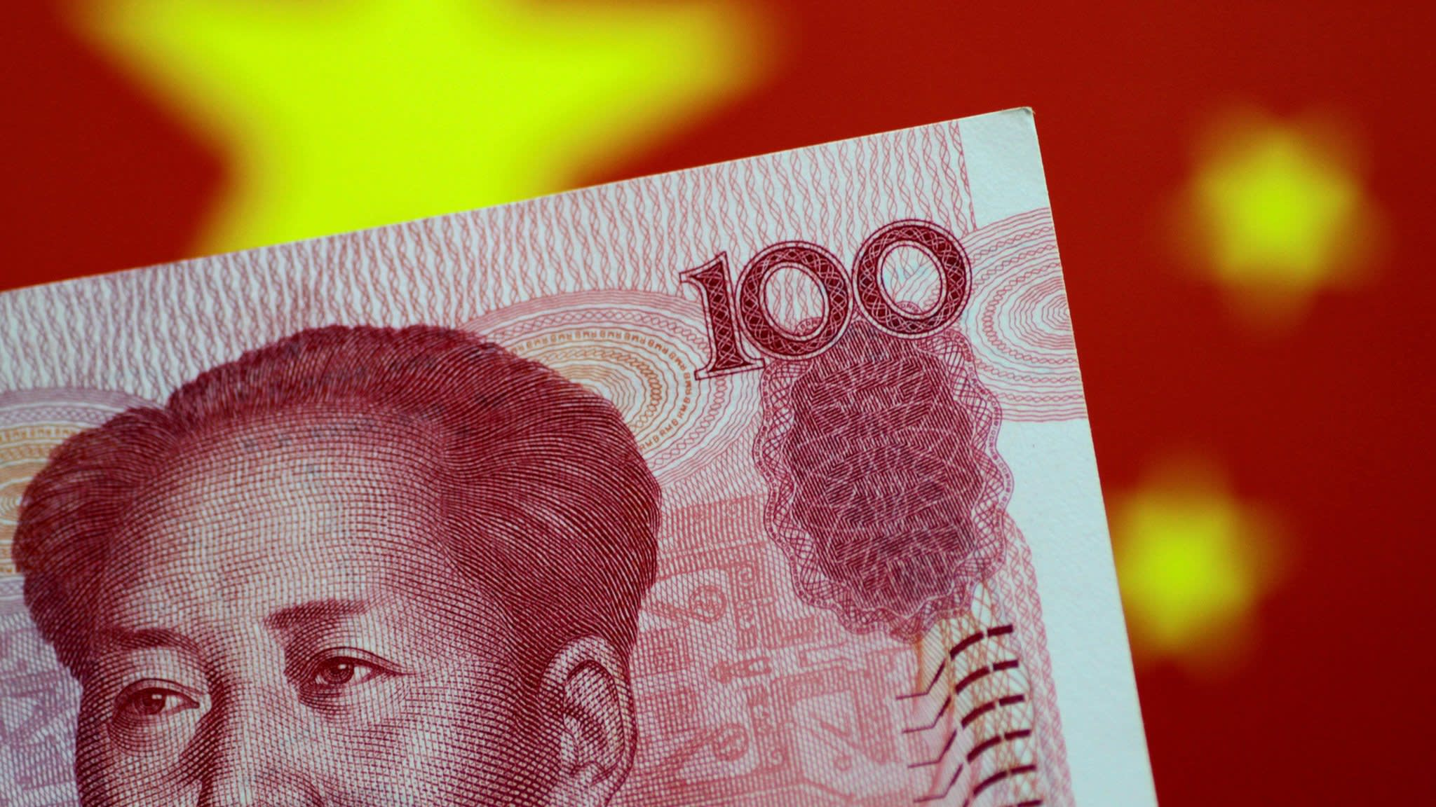 What is driving the renminbi's fall?