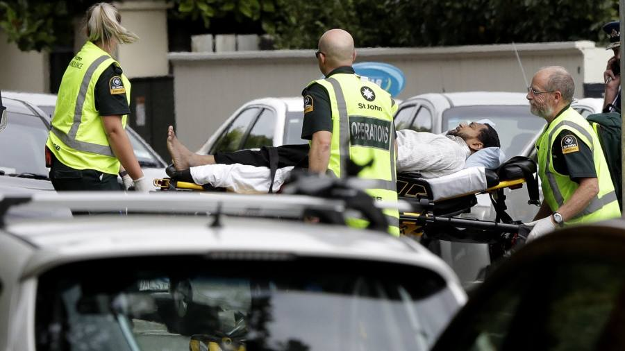 Mass shootings in New Zealand leave many dead