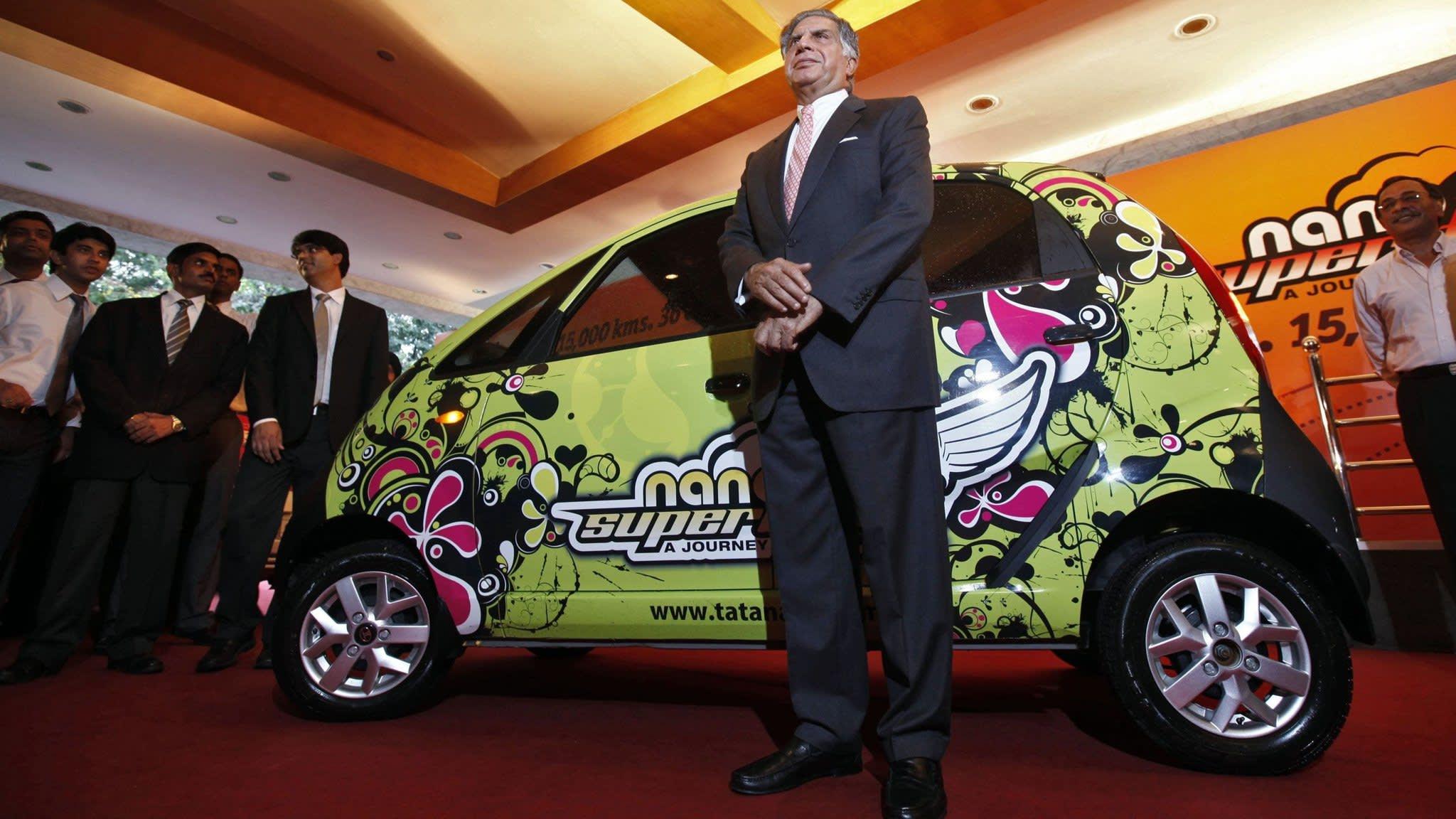 Tata Motors looks to move beyond expensive Nano failure
