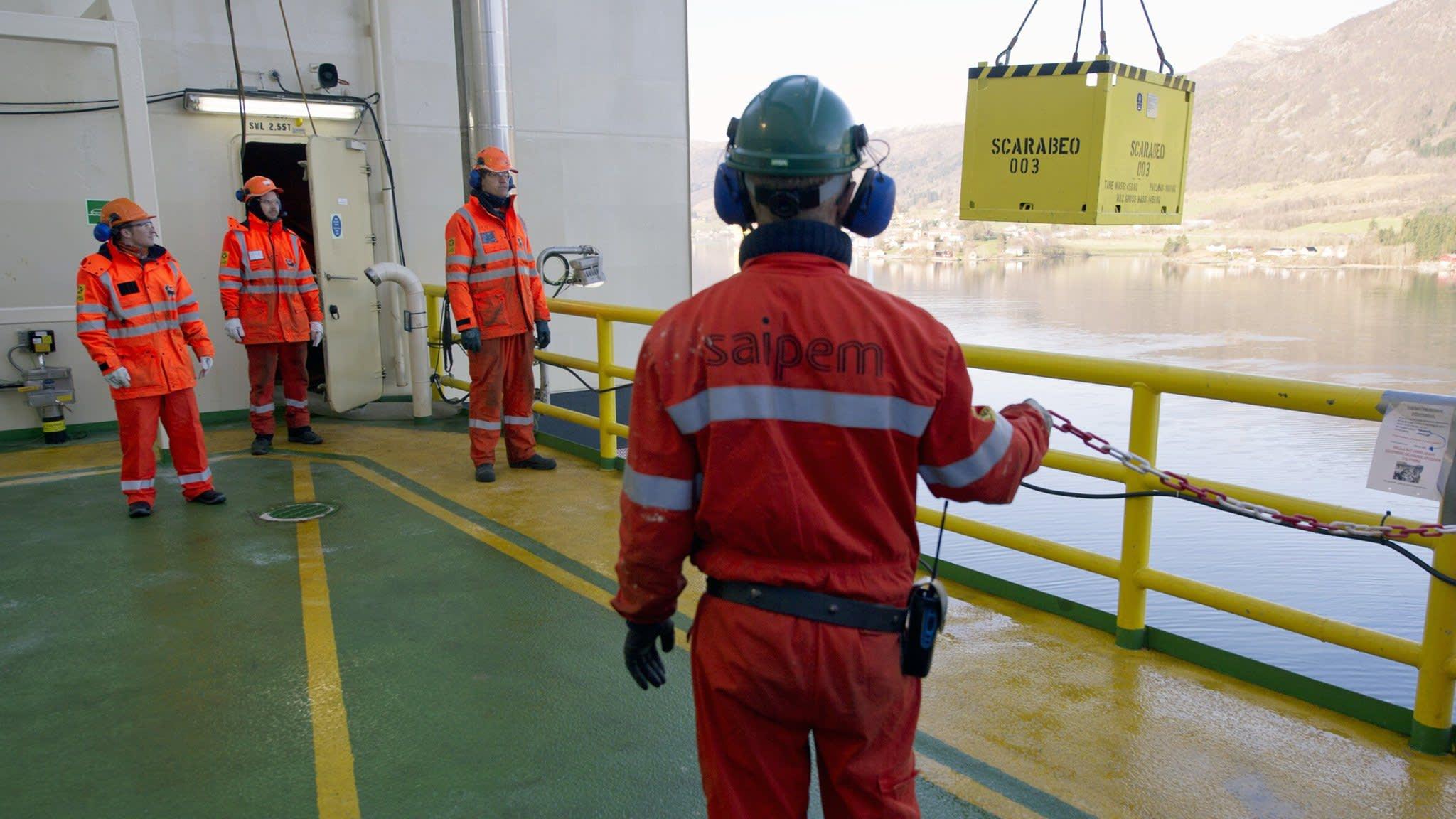 Saipem's robots set to cap undersea oil blowouts
