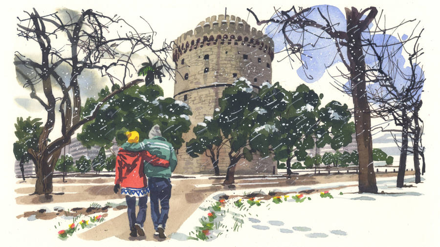 Postcard from       Thessaloniki | Financial Times