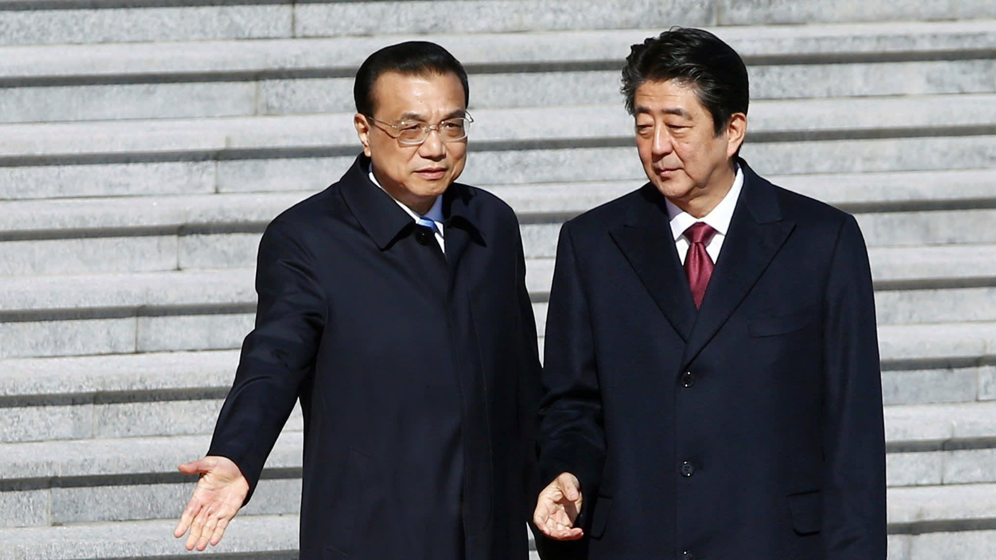 China and Japan reset strained relationship