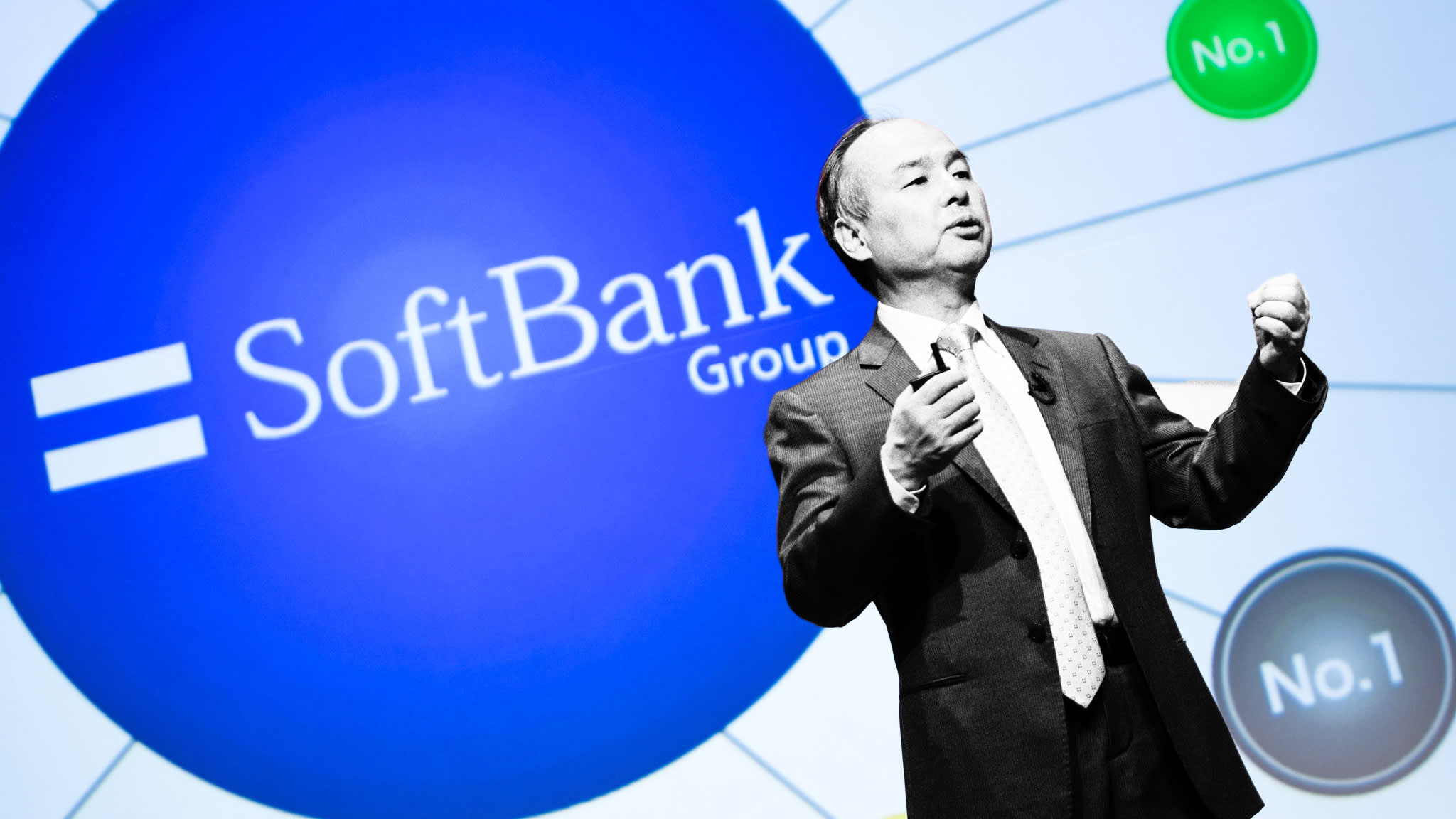 Masayoshi Son seeks to convince world of SoftBank's true worth