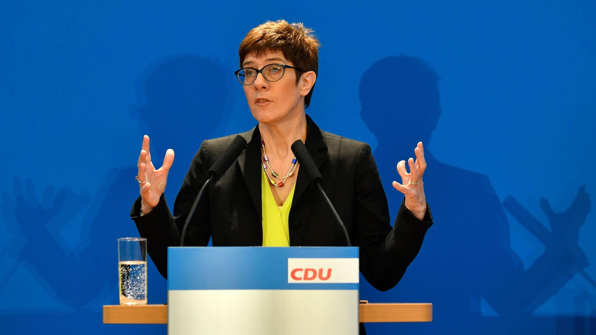 Merkel's favoured successor declares chancellor's era is over