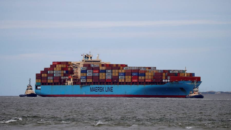 maersk launches container ship on arctic route financial times