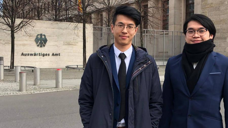 Hong Kong activists say Germany has granted them refugee status