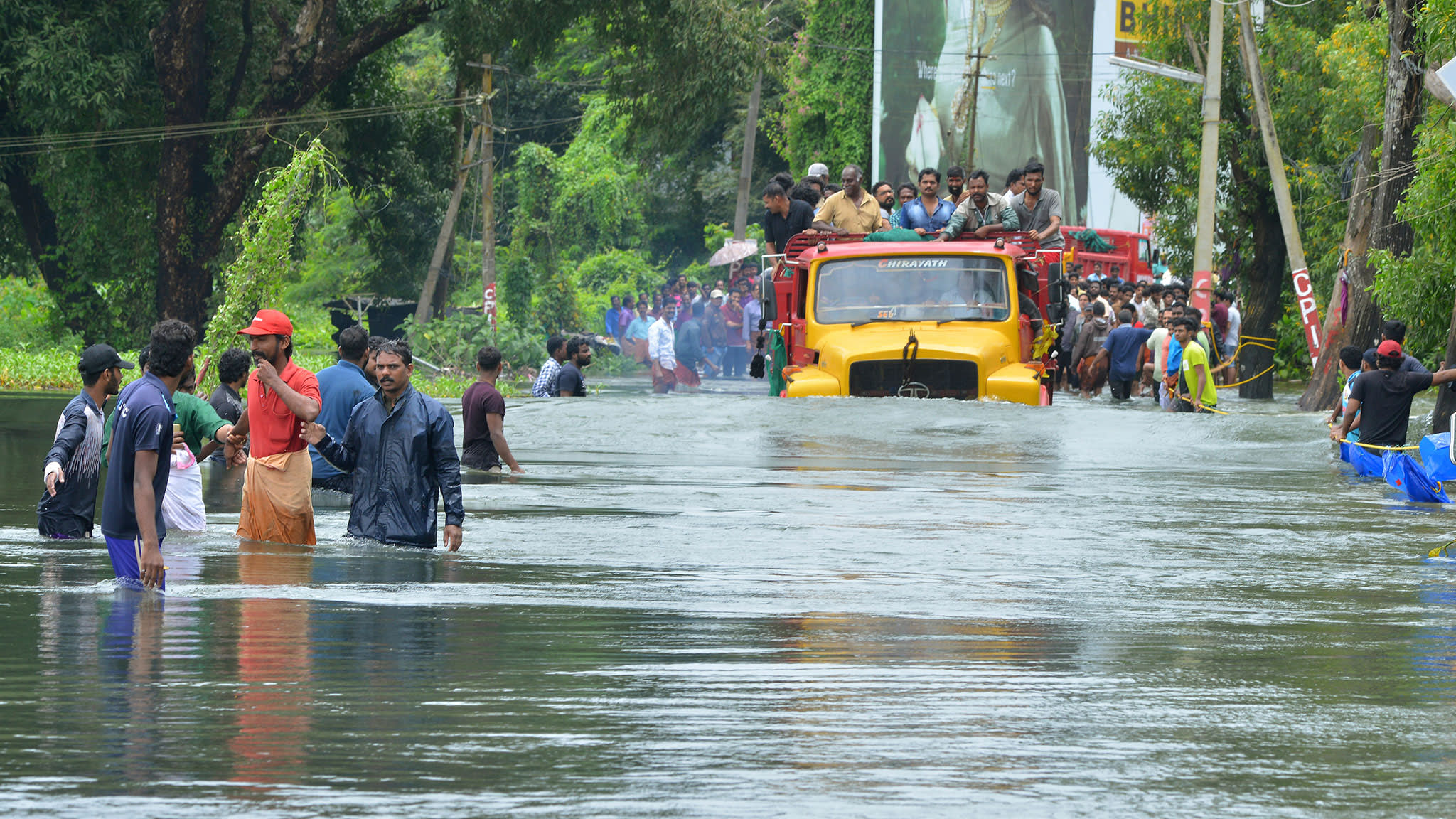 Damage wreaked by Kerala floods to cost $2.7bn