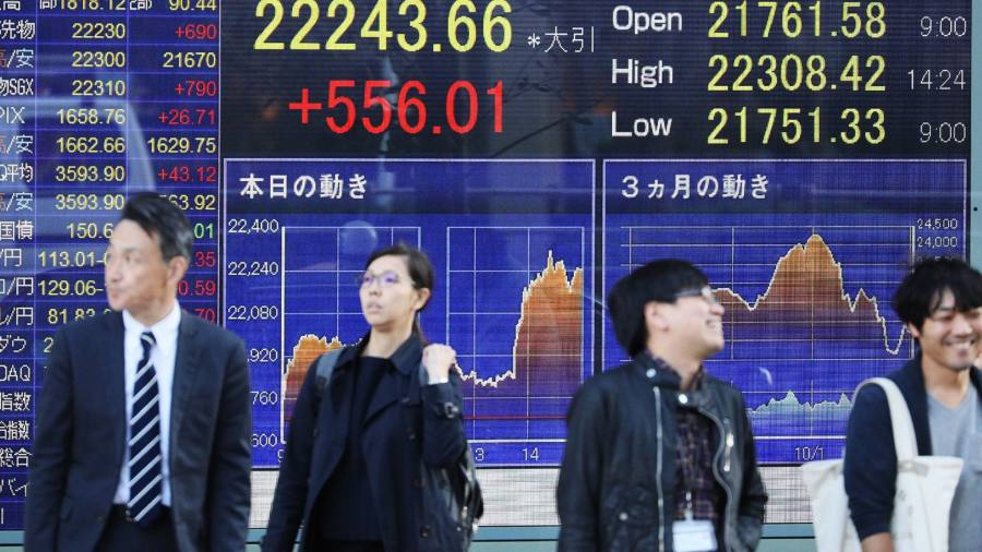 Japan gains and China slides in mixed Asia markets