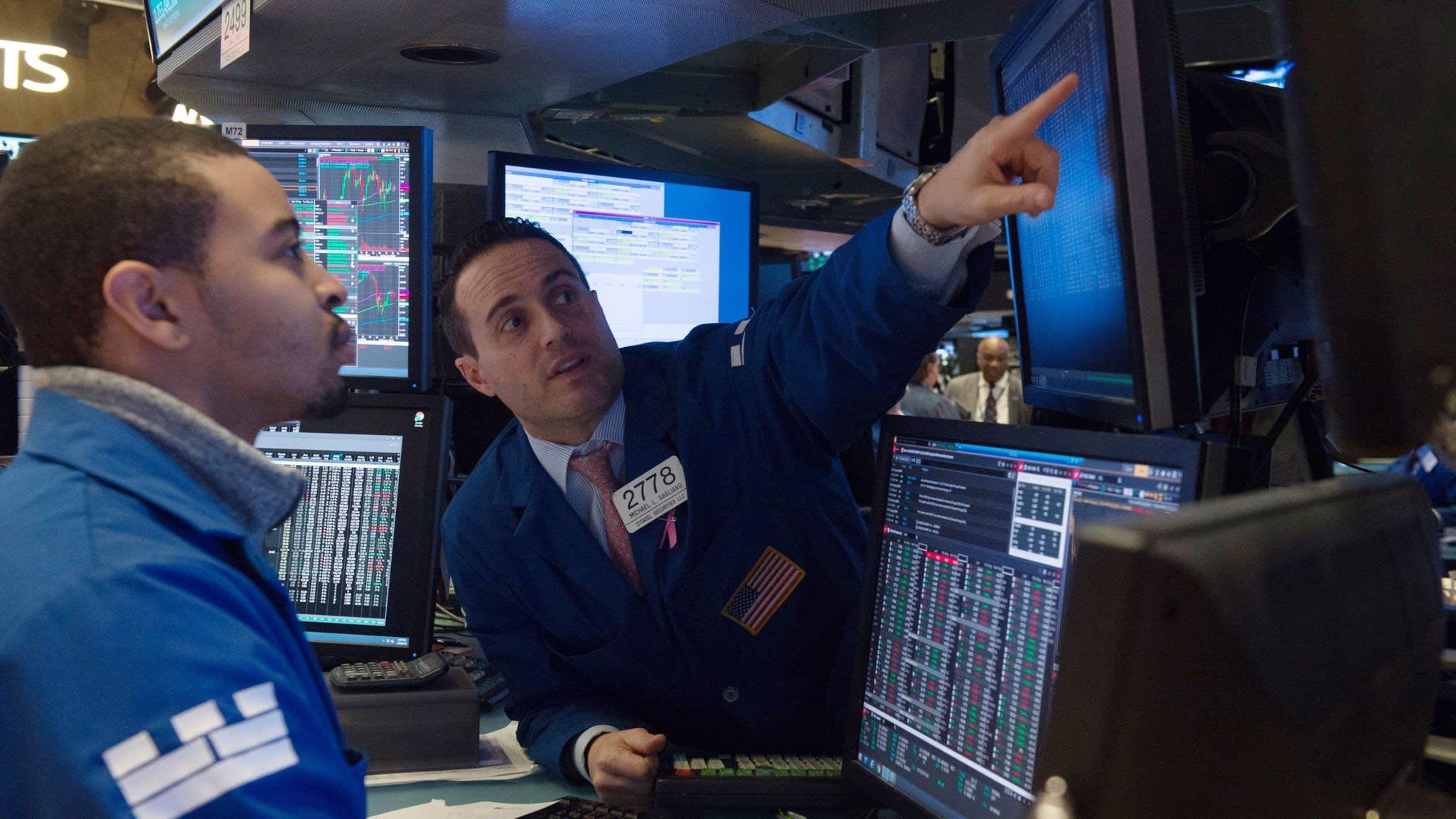 Nasdaq falls sharply as Amazon and Tesla weigh on shares