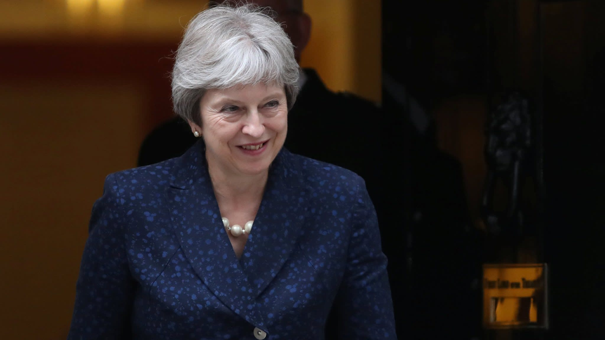 Theresa May fends off immediate leadership challenge