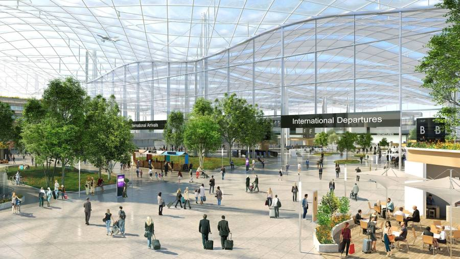 Heathrow upgrade to split in four phases up to 2050