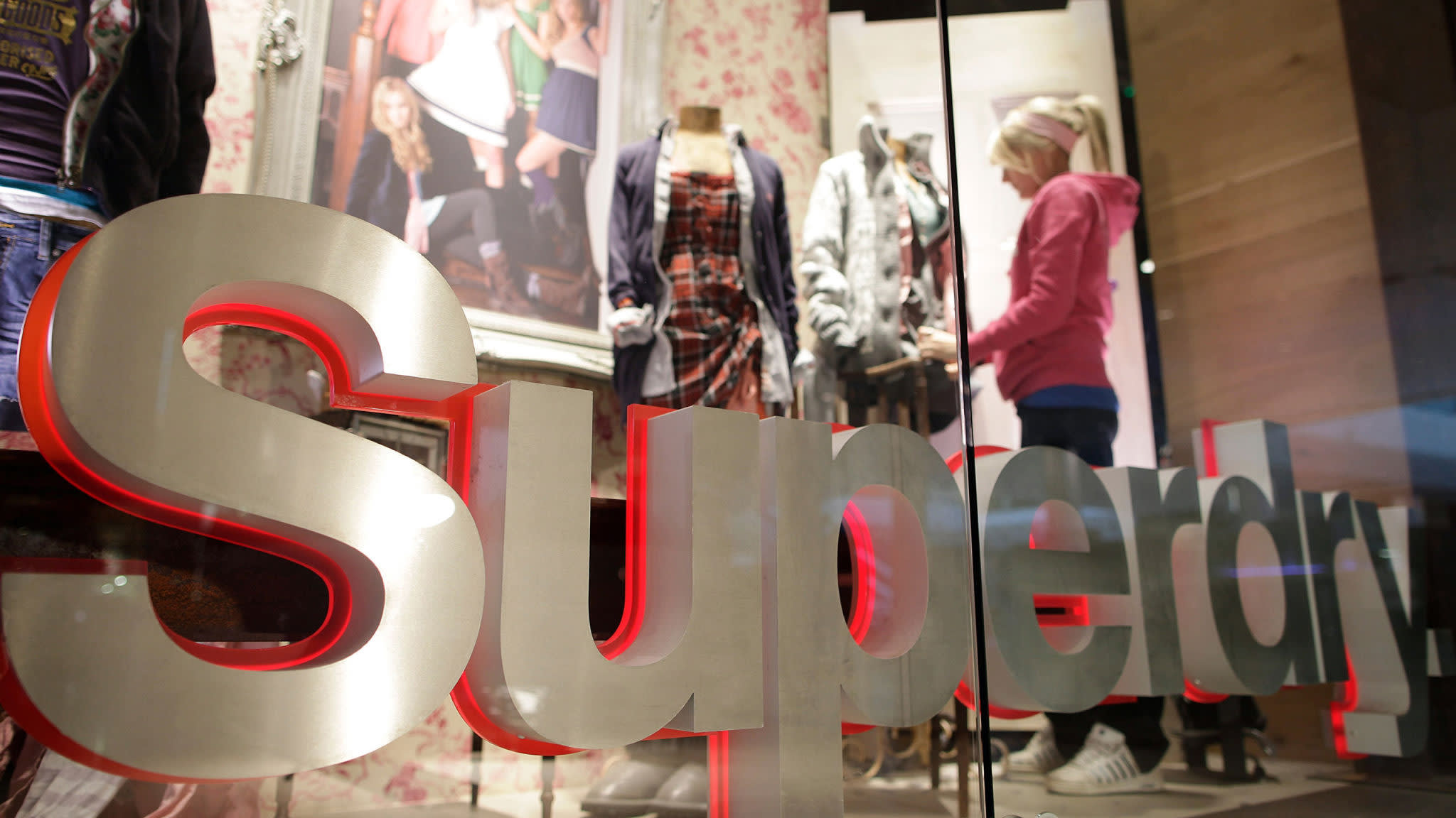 Superdry shares fall 22% after profit warning