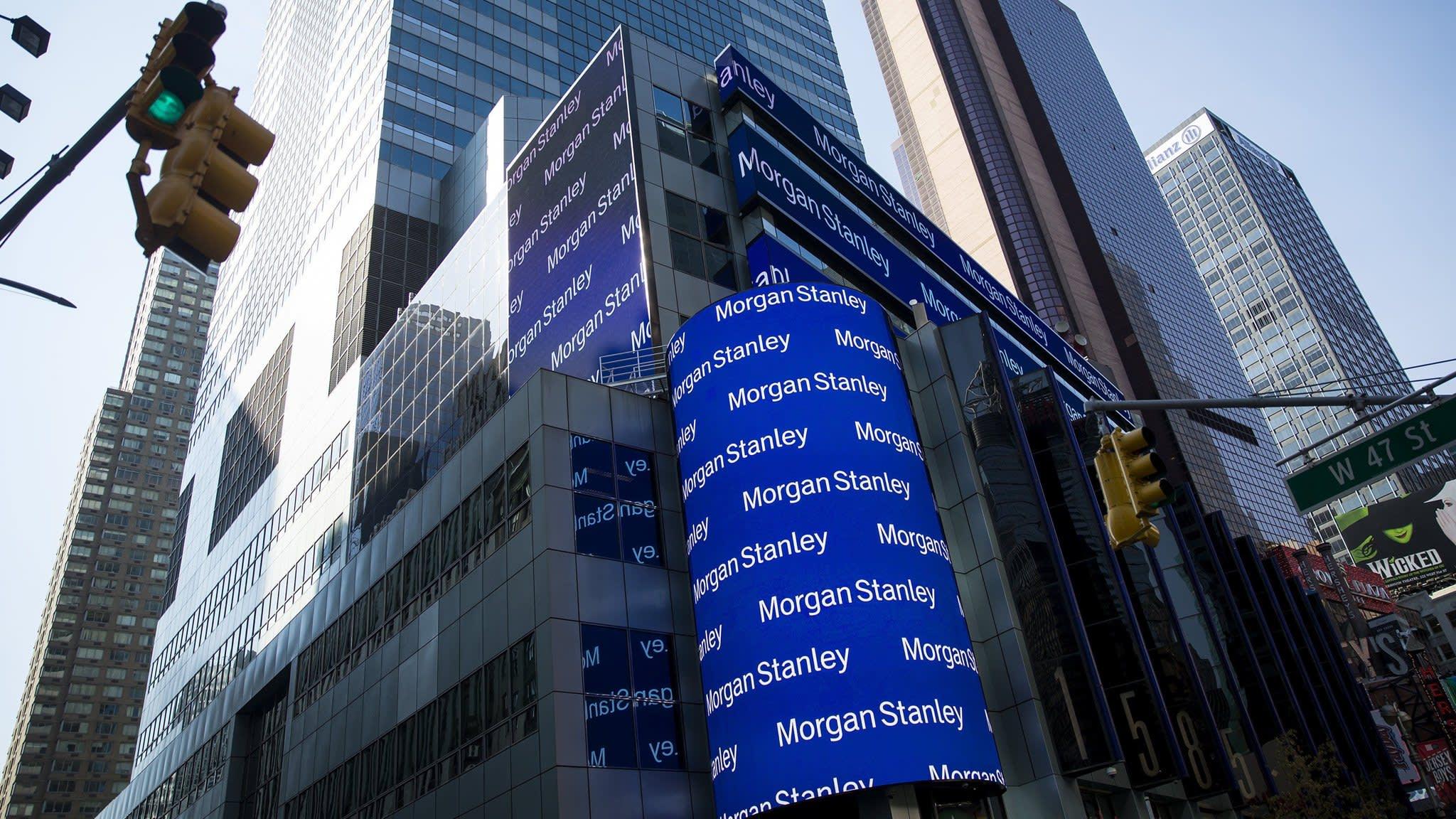 Morgan Stanley succession contest heats up