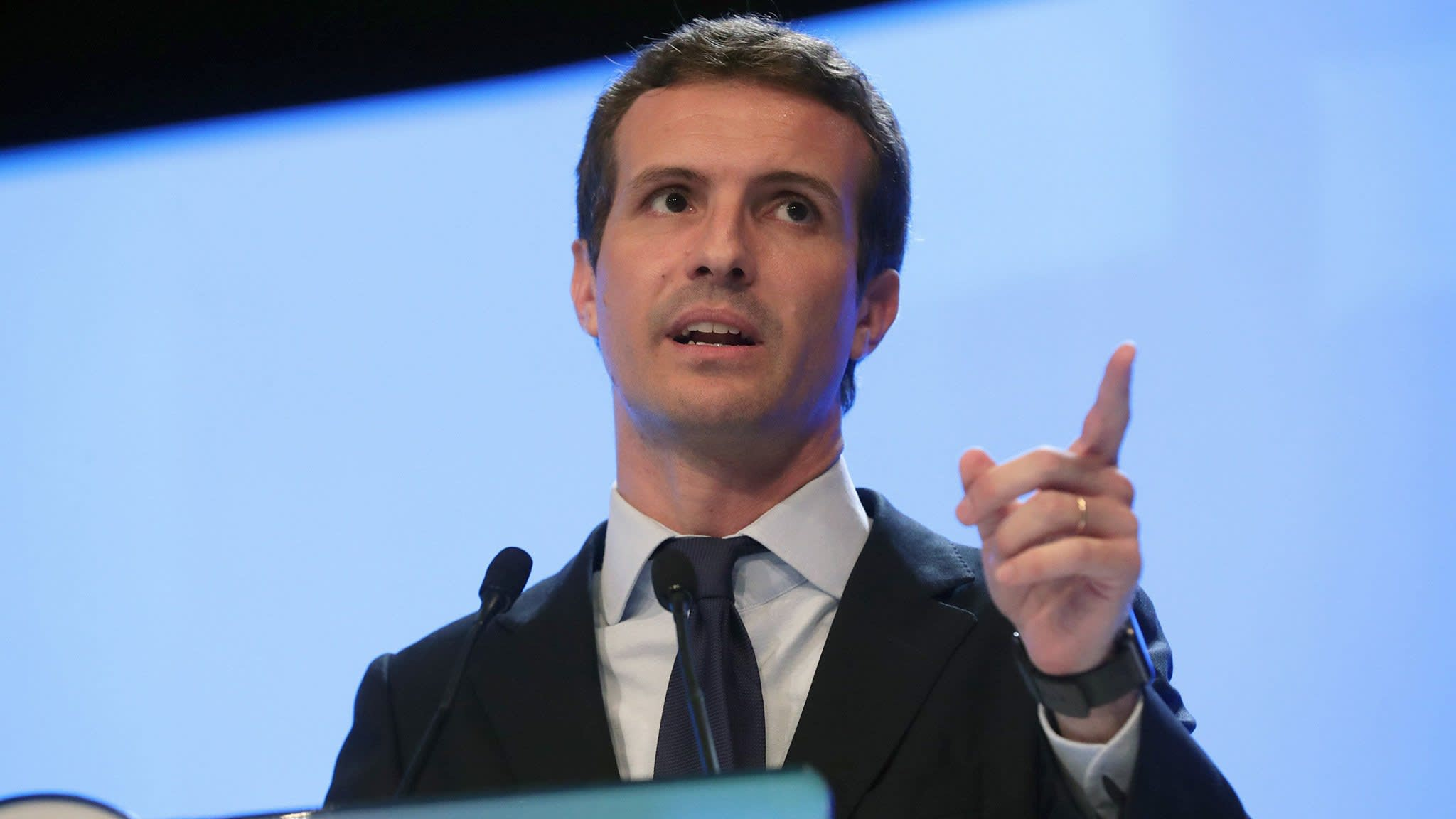 Spain's People's Party elects Pablo Casado