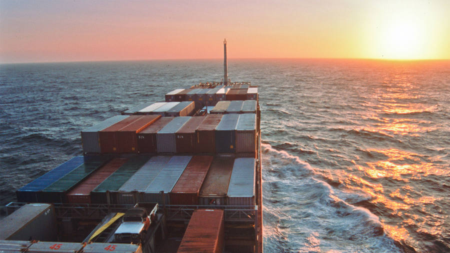 A freight adventure: Sailing the oceans on a container ship