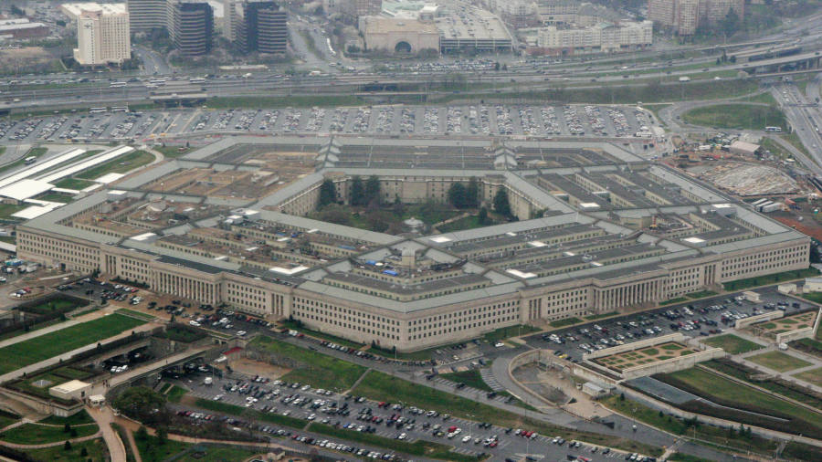 US defence secretary recuses himself from $10bn cloud contract