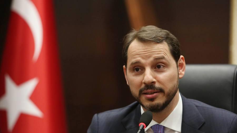 Lira comes under pressure after US sanctions warning