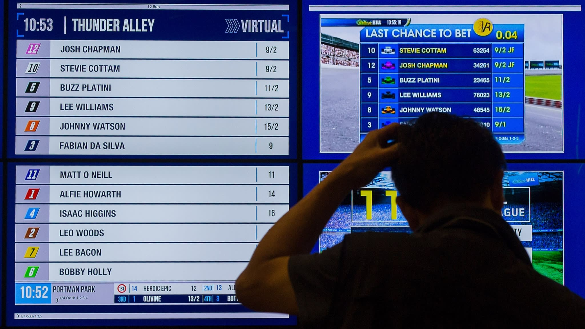 Opening Quote: William Hill bets on digital gambling and