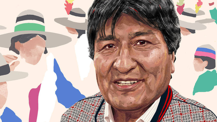 Evo Morales: 'We are not a country of beggars any more'