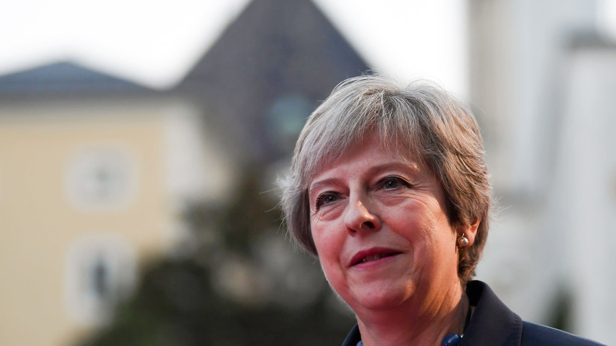Theresa May rejects 'not credible' EU plan on N Ireland